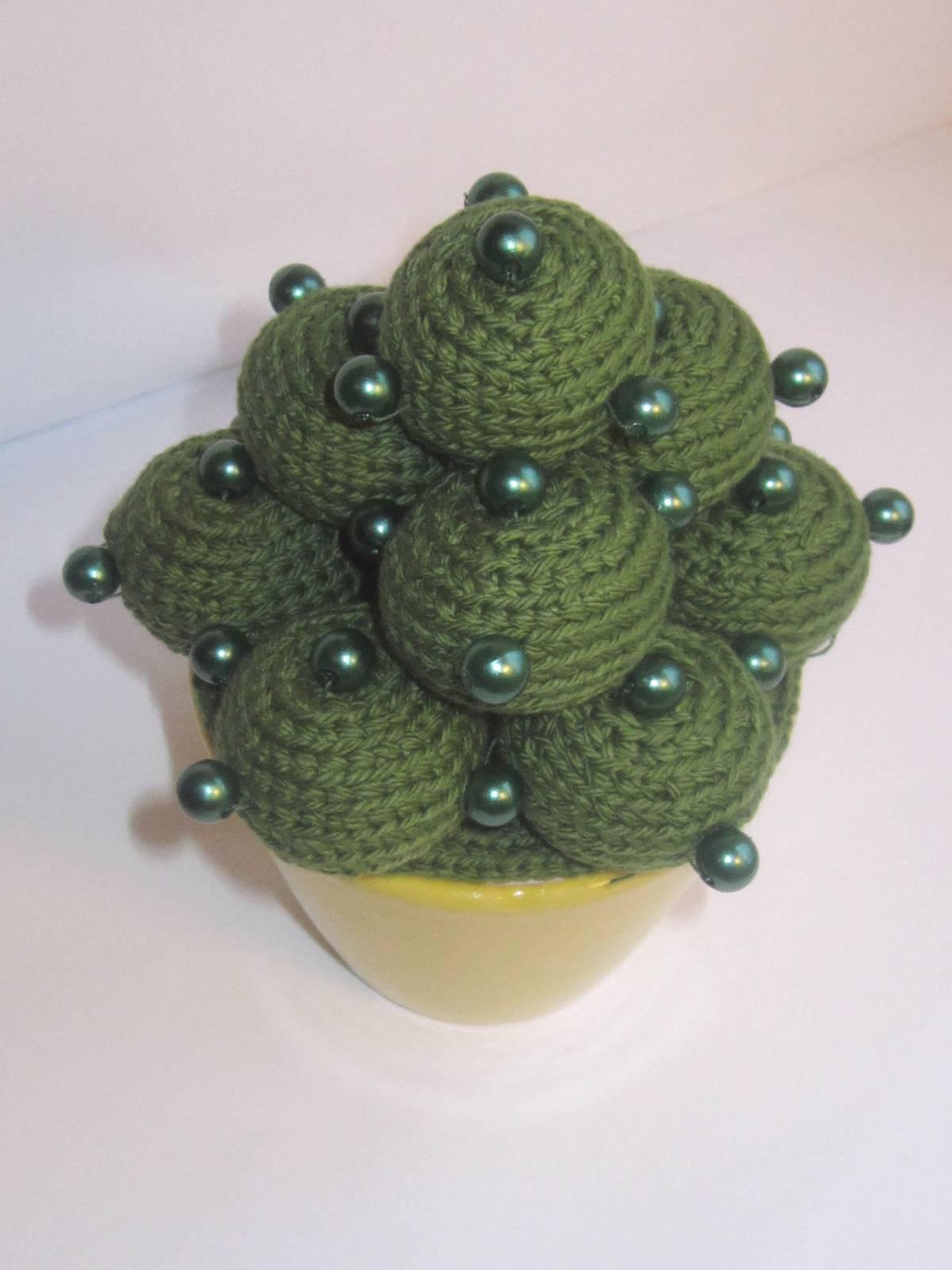 Вязаный крючком кактус описание фото